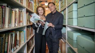 Blythe Duff donates Taggart scripts