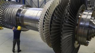 газові турбіни Siemens
