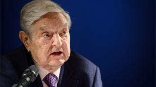 George Soros at Davos