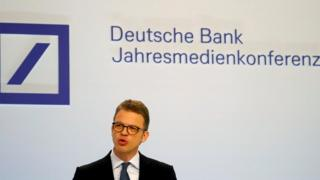Deutsche Bank chief executive Christian Sewing