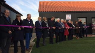 The opening of the Suffolk Christian-run Talitha Koum treatment centre