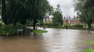 Poynton flooding