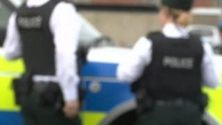 PSNI officers blurred, generic image