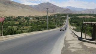 جاده های افغانستان