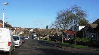 Mendip Road in Northampton.