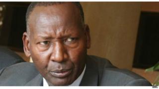 Waziri wa Usalama wa ndani nchini Kenya Jenerali Joseph Ole Nkaissery