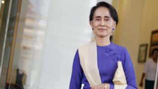 File photo: Aung San Suu Kyi, 25 March 2016