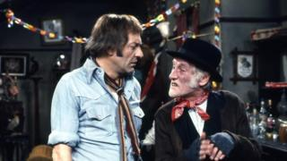 Scene from 1973 episode of Steptoe and Son