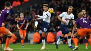 Dele Alli playing against Man City on Monday