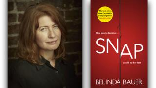 Belinda Bauer and her book