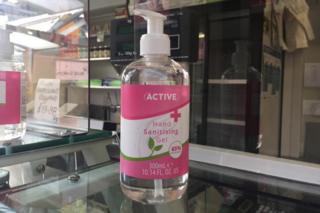 coronavirus vaccine Hand sanitising gel