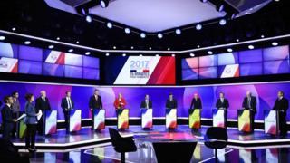 Debate presidencial na França