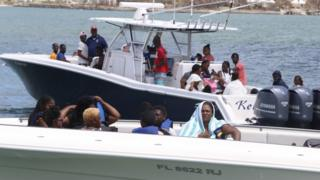 Hurricane Dorian: Hundreds flee chaos in storm-ravaged Bahamas