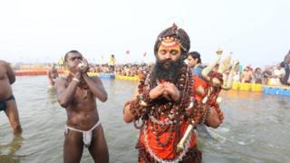 Naga Sadhu azizleri
