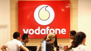 Vodafone store in Sydney