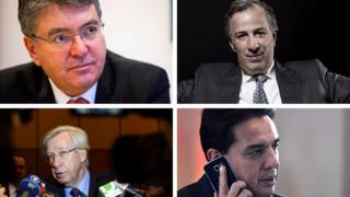 Ministros de Hacienda de América Latina