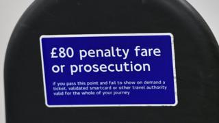 £80 penalty fare
