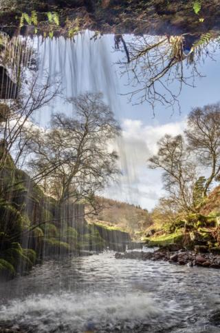 Biglees Waterfall, Fairlie, North Ayrshire
