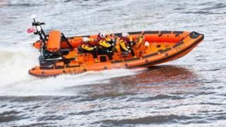 RNLI inshore lifeboat