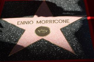 in_pictures Ennio Morricone's star on The Hollywood Walk Of Fame