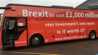 Brexit Facts Bus