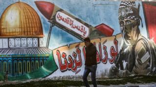 فلسطيني في قطاع غزة