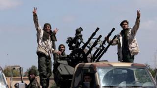 Emekli general Halife Hafter'in Libya Ulusal Ordusu'na bağlı güçler