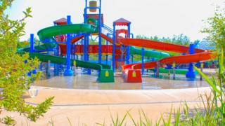 Water park at Twinlakes