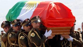 نقل جثمان جثمان طالباني من ألمانيا إلى مدينة السليمانية في كردستان العراق