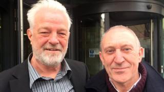 John Bromilow and Harry Wildman,