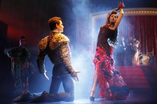 Stage production of Strictly Ballroom