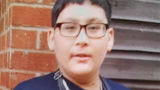 Officers search for missing boy Mohammed Hussain, 13