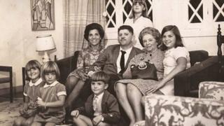 Rubens Paiva com a família