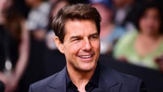 US Actor Tom Cruise wound in ankle