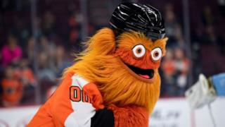 Close-in shot of Gritty