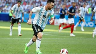 Lionel n'avait plus joué en sélection depuis la défaite de l'Argentine contre la France en Russie.