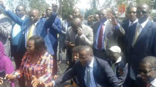 Cord MPs march to court in Kenya - 22 December 2016