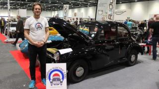 Matthew and his Morris Minor