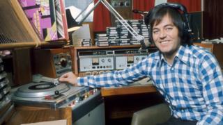 Tony Blackburn in 1973