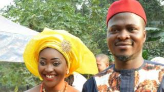 Foto: Chidimma Amedu e sua mulher
