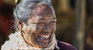 Perempuan dari suku M'uun