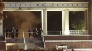 Police at Tennessee State University
