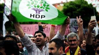 HDP gösterisi - 2015
