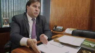 Rodrigo Maia concede entrevista à BBC News Brasil