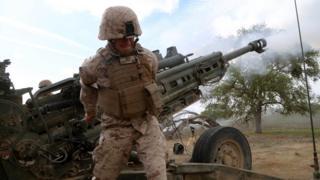 シリアに派遣されたのは海兵隊の第11進攻部隊