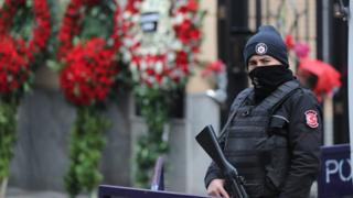 Охрана консульства в Стамбуле