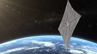 الشراع شمسي مستقبل السفر بين النجوم
