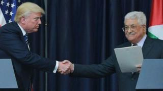Трамп менен Аббастын сүйлөшүүлөрү Вифлеемде өттү.