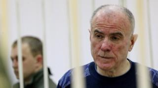 Олексій Пукач на засіданні суду, 2015 рік