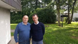 Michael Toner and Gerry McGowan